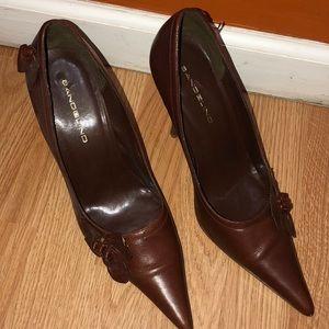 "Chocolate Brown 4"" Heel"